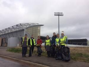 Community spirit in action at The Falkirk Stadium