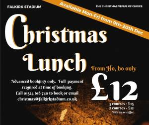 Christmas Lunch from only £12