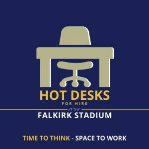 Hot Desks for Hire at The Falkirk Stadium