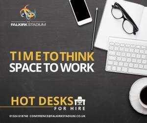 Hot Desks for a Hot Drink!