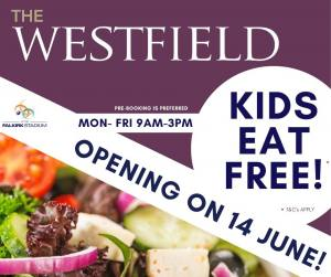 Westfield Cafe to open 14th June