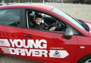 Young Driver Training returns to The Falkirk Stadium